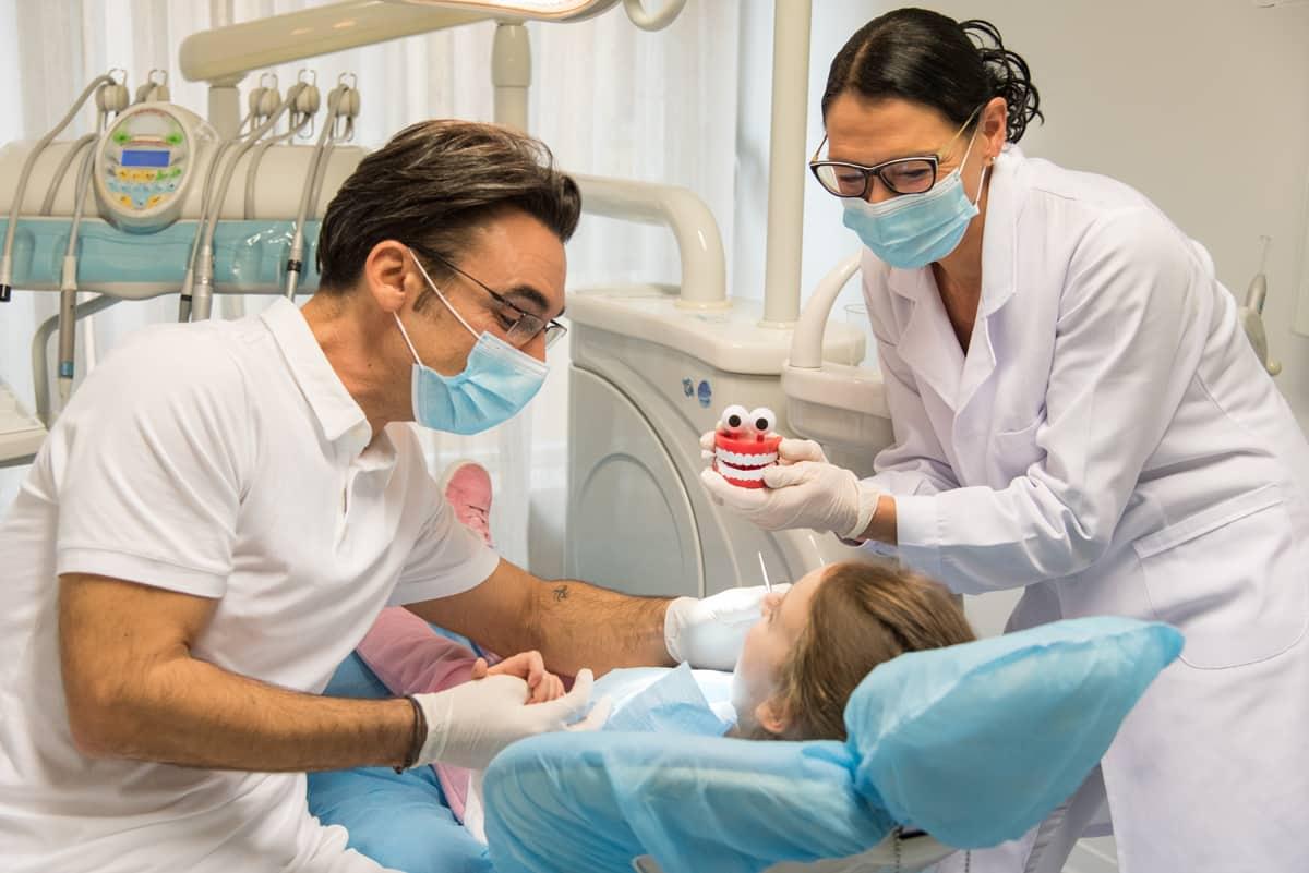 dentista specializzato per bambini